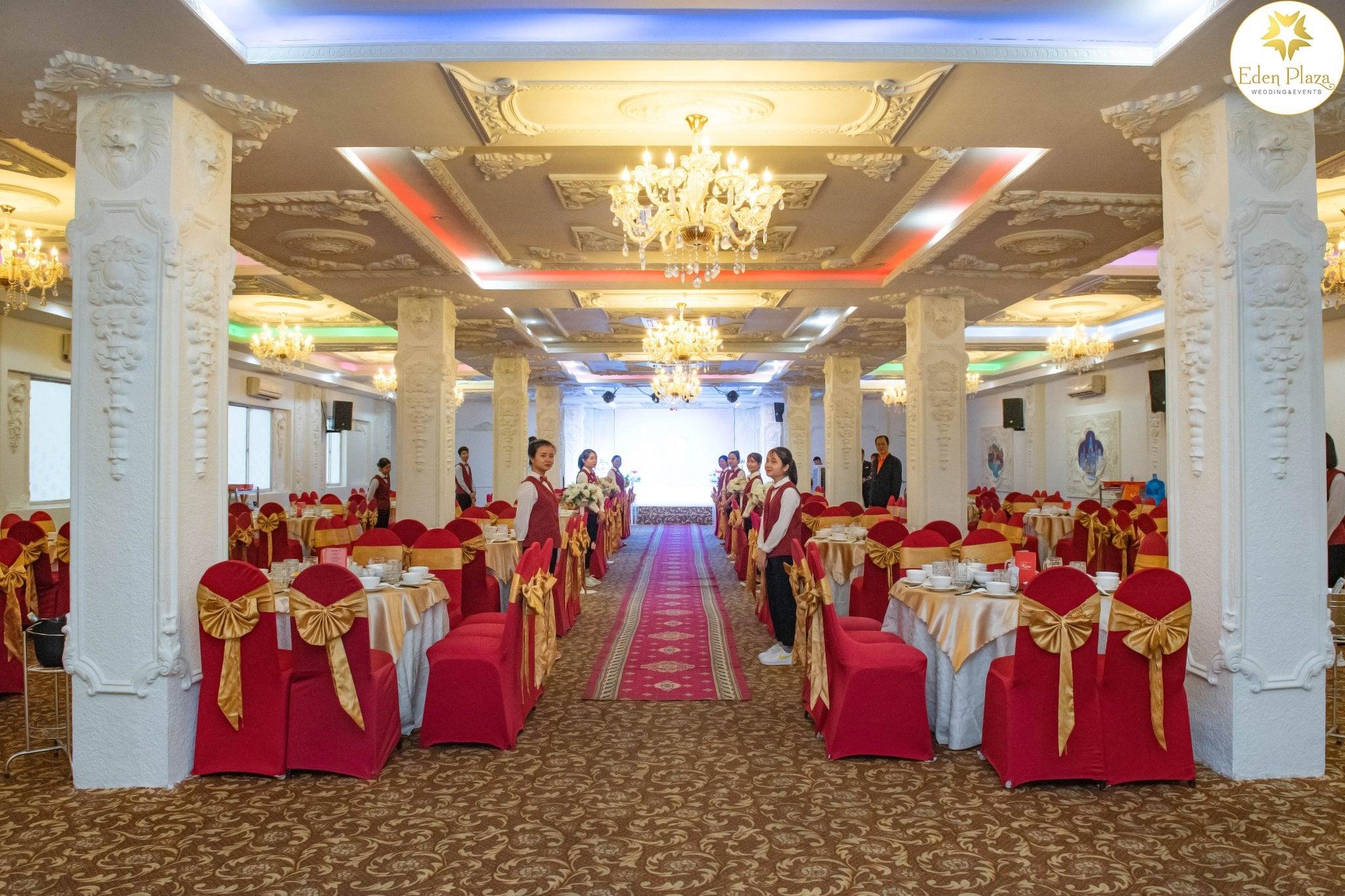 Sảnh tiệc cưới Eden Plaza Thủ Đức
