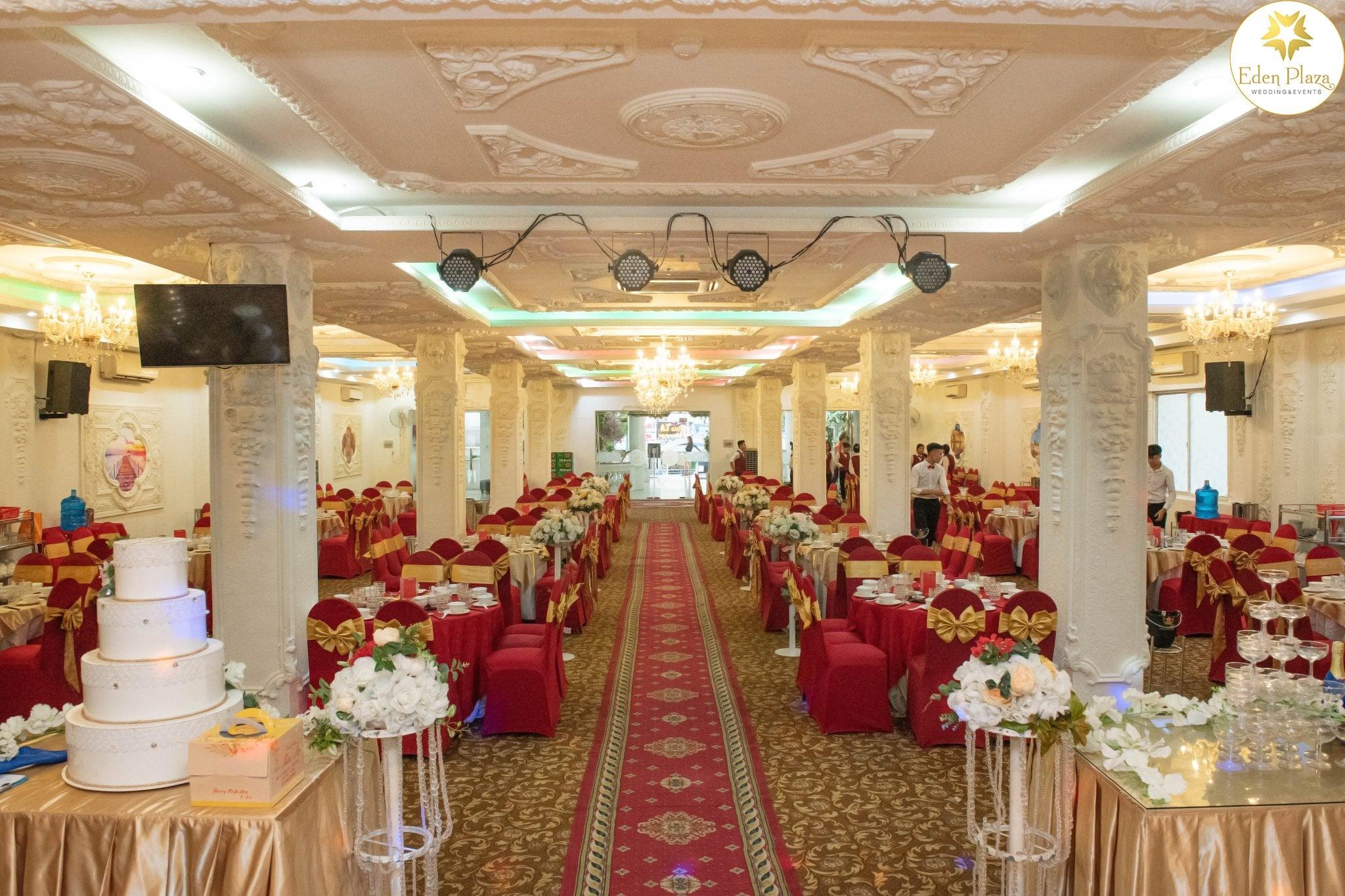 Sảnh tiệc cưới Eden Plaza Thủ Đức 1