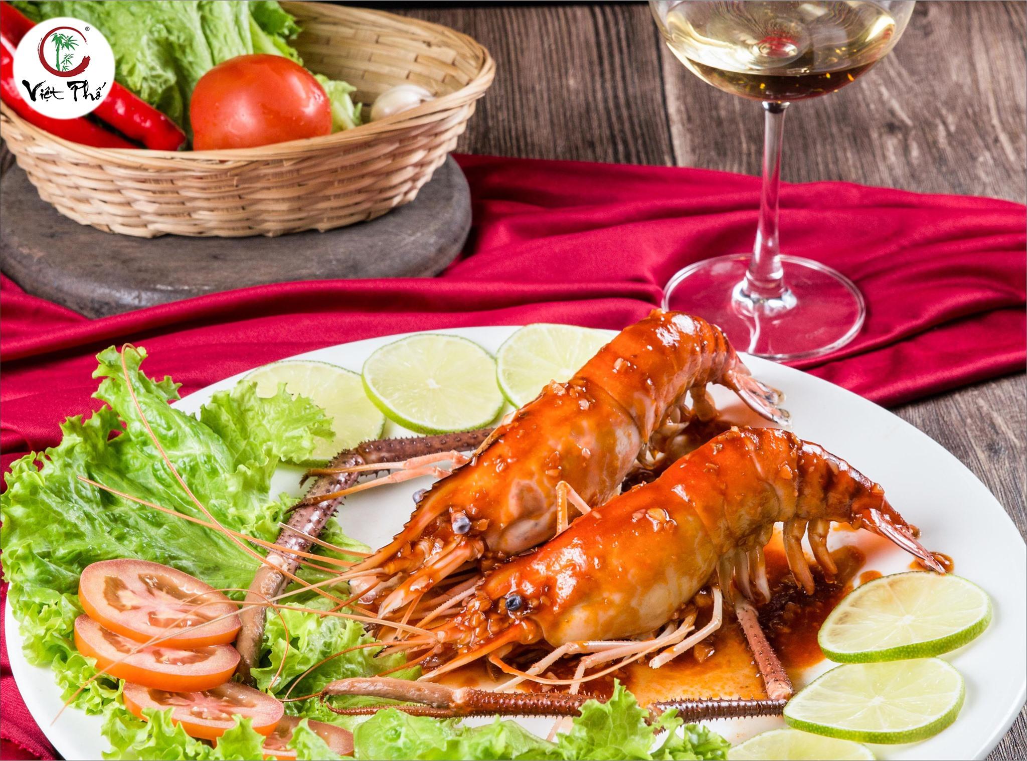 hình ảnh món ăn ở nhà hàng việt phố