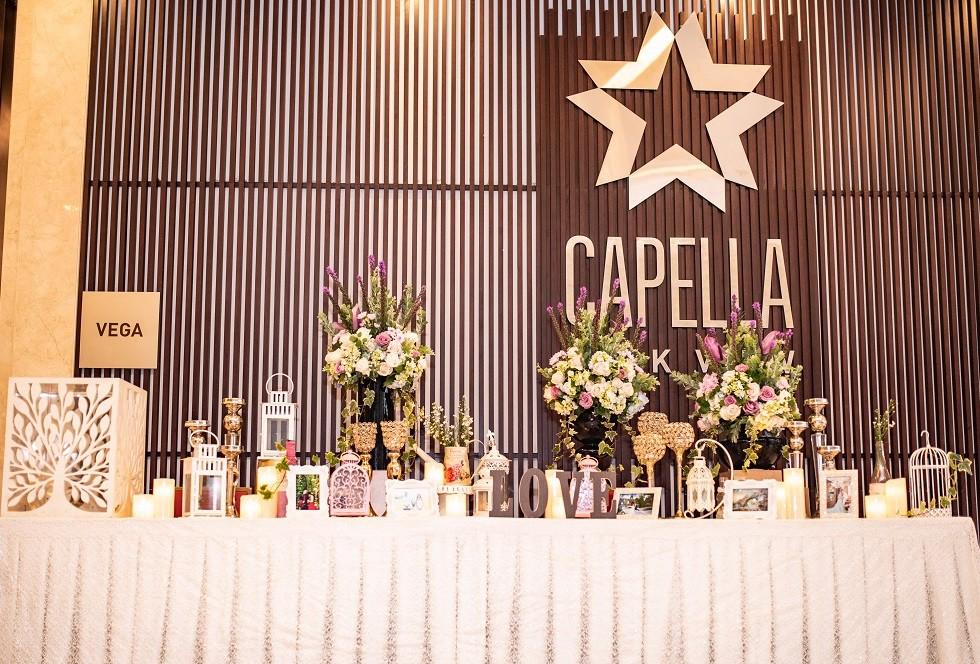 Trang trí tiệc cưới tại Capella Park View