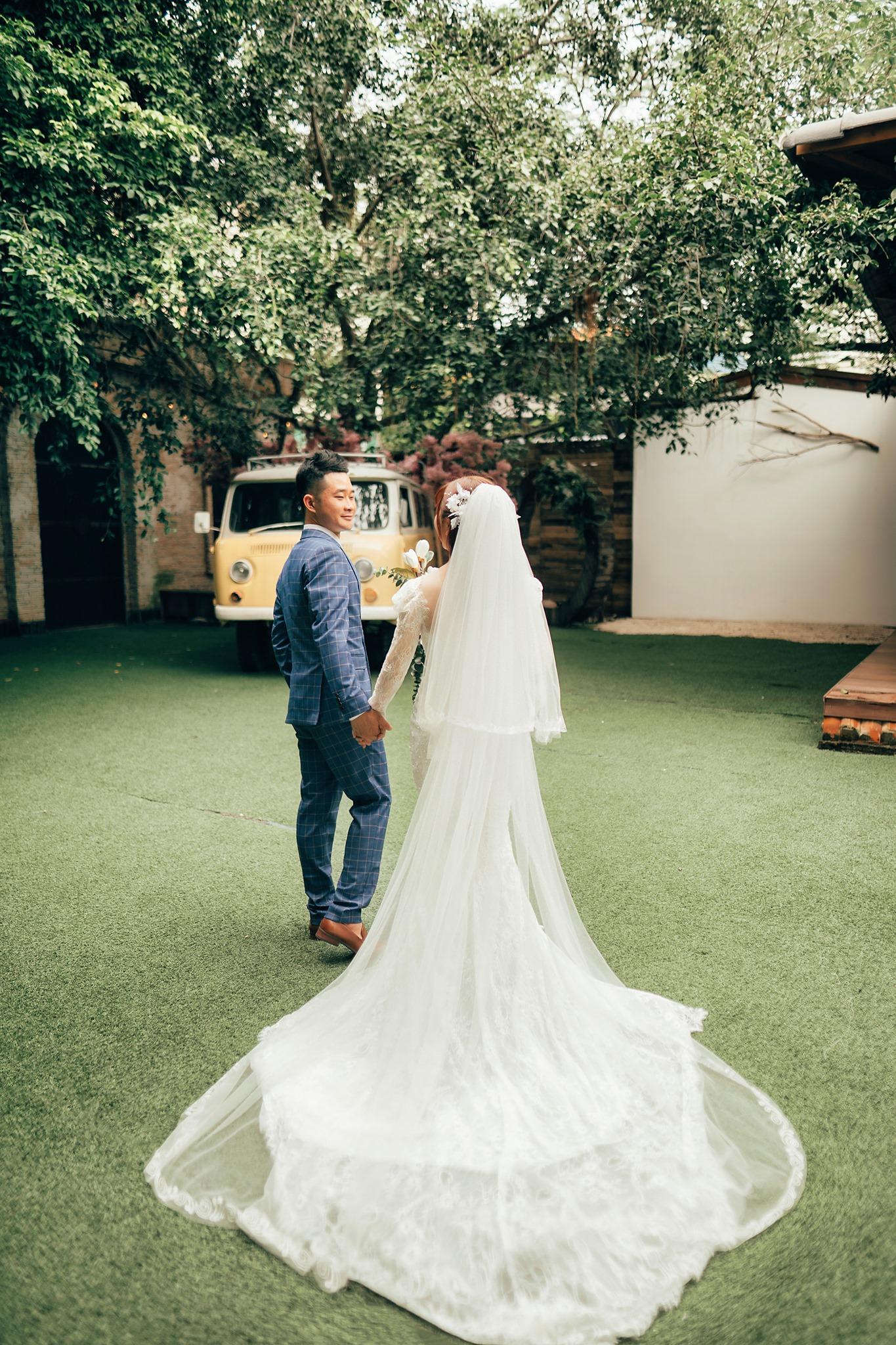 Pre-wedding chụp tại phim trường