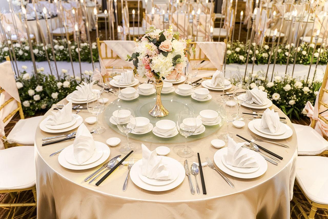 tổ chức tiệc cưới nhà hàng Merperle Crystal quận 7