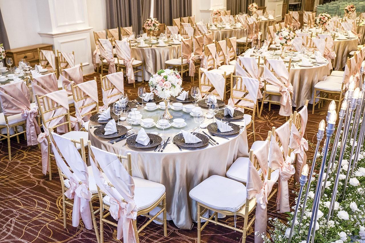 nhà hàng tiệc cưới ở phú mỹ hưng - Merperle Crystal Palace