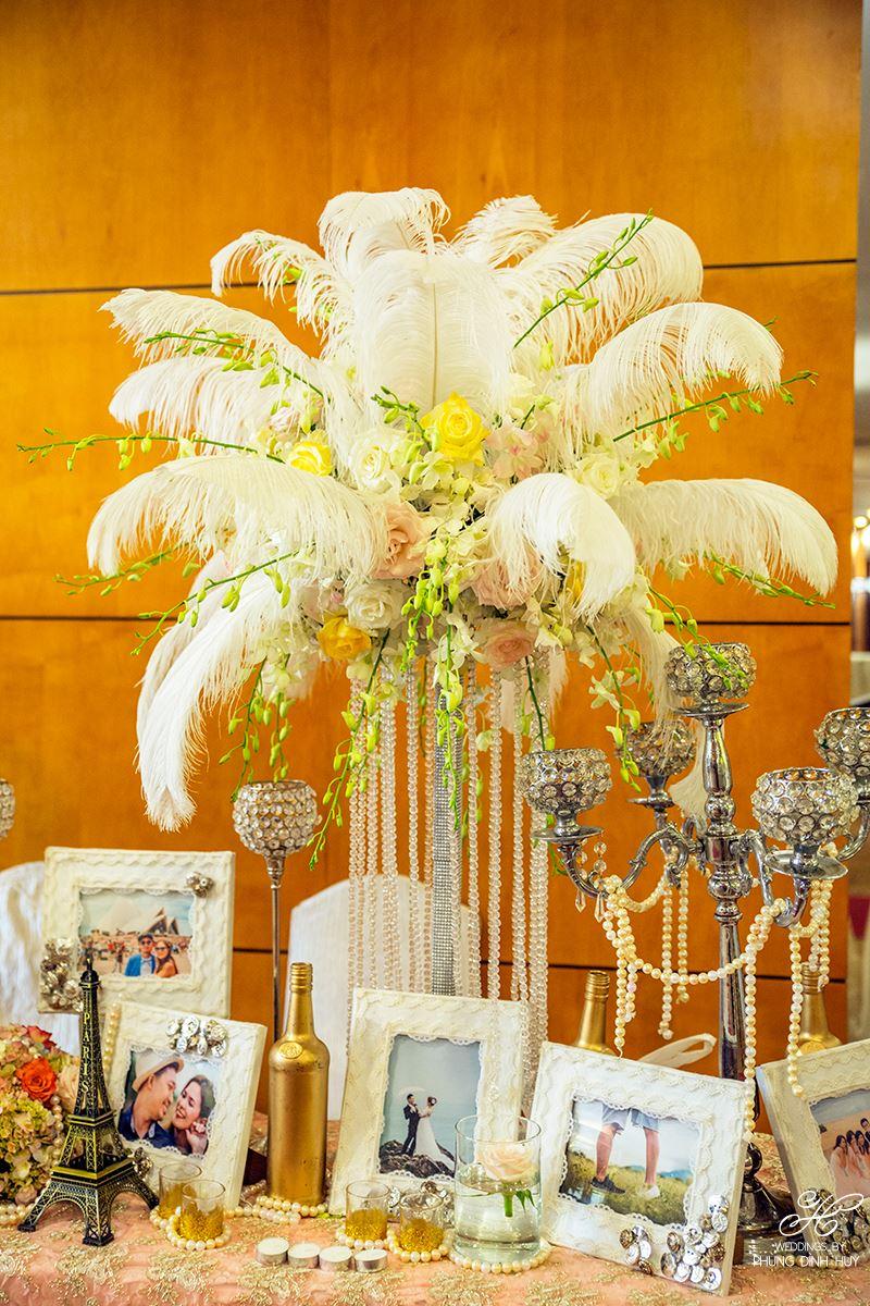 Trang trí tiệc cưới tại khách sạn Equatorial