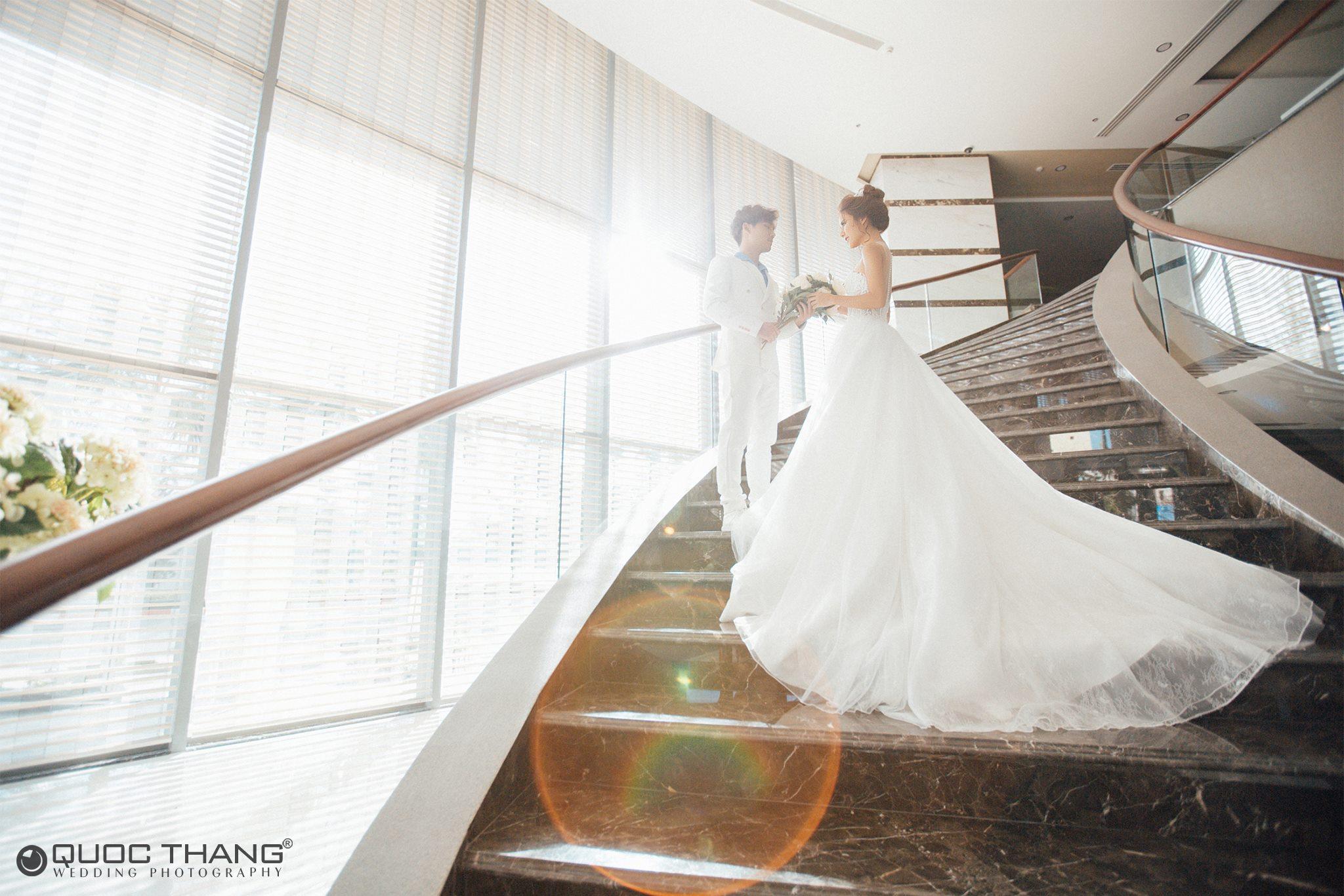 ảnh cưới đẹp biển Hồ Cốc
