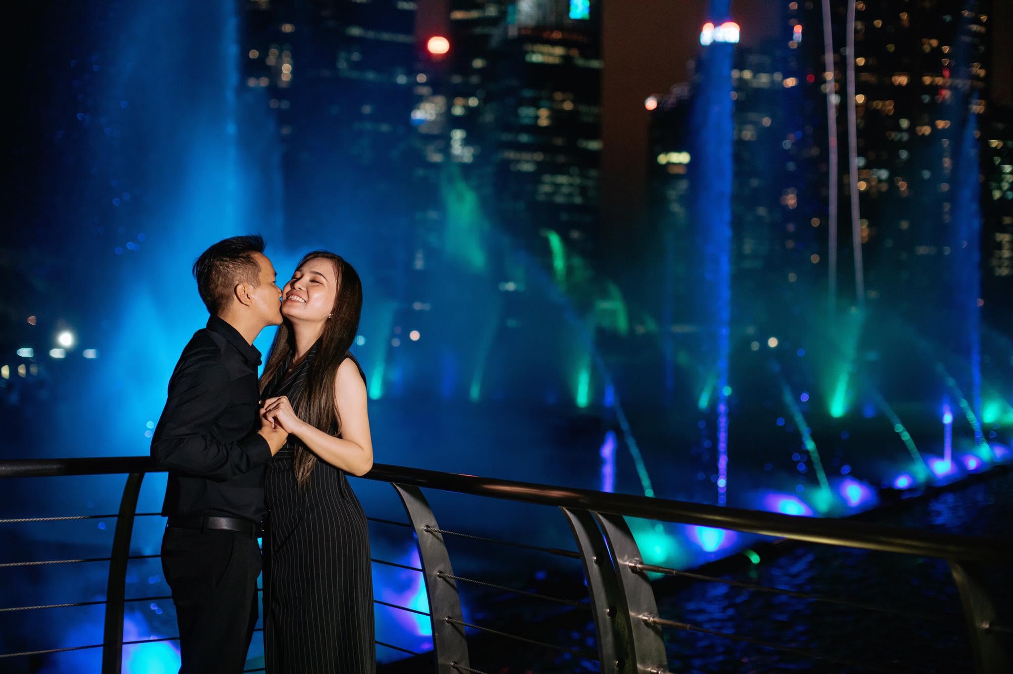 ảnh cưới đẹp chụp tại Singapore