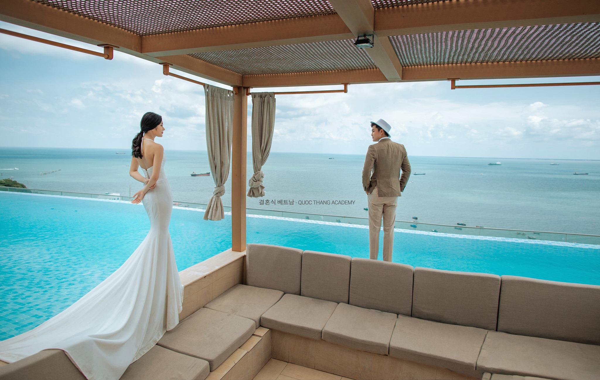 ảnh cưới đẹp ngoại cảnh chụp bởi Quốc Thắng studio