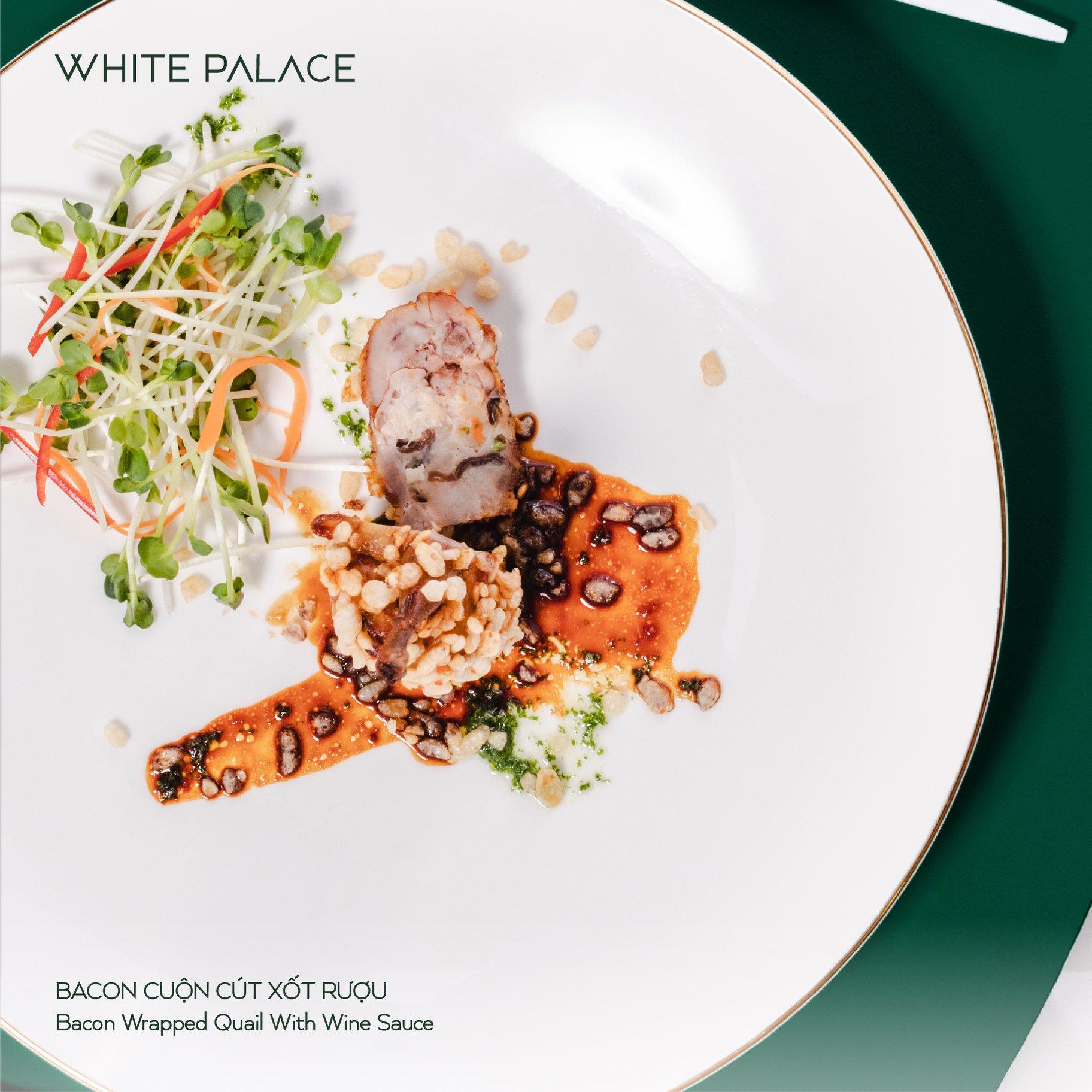 Thực đơn Nhà hàng tiệc cưới White Palace
