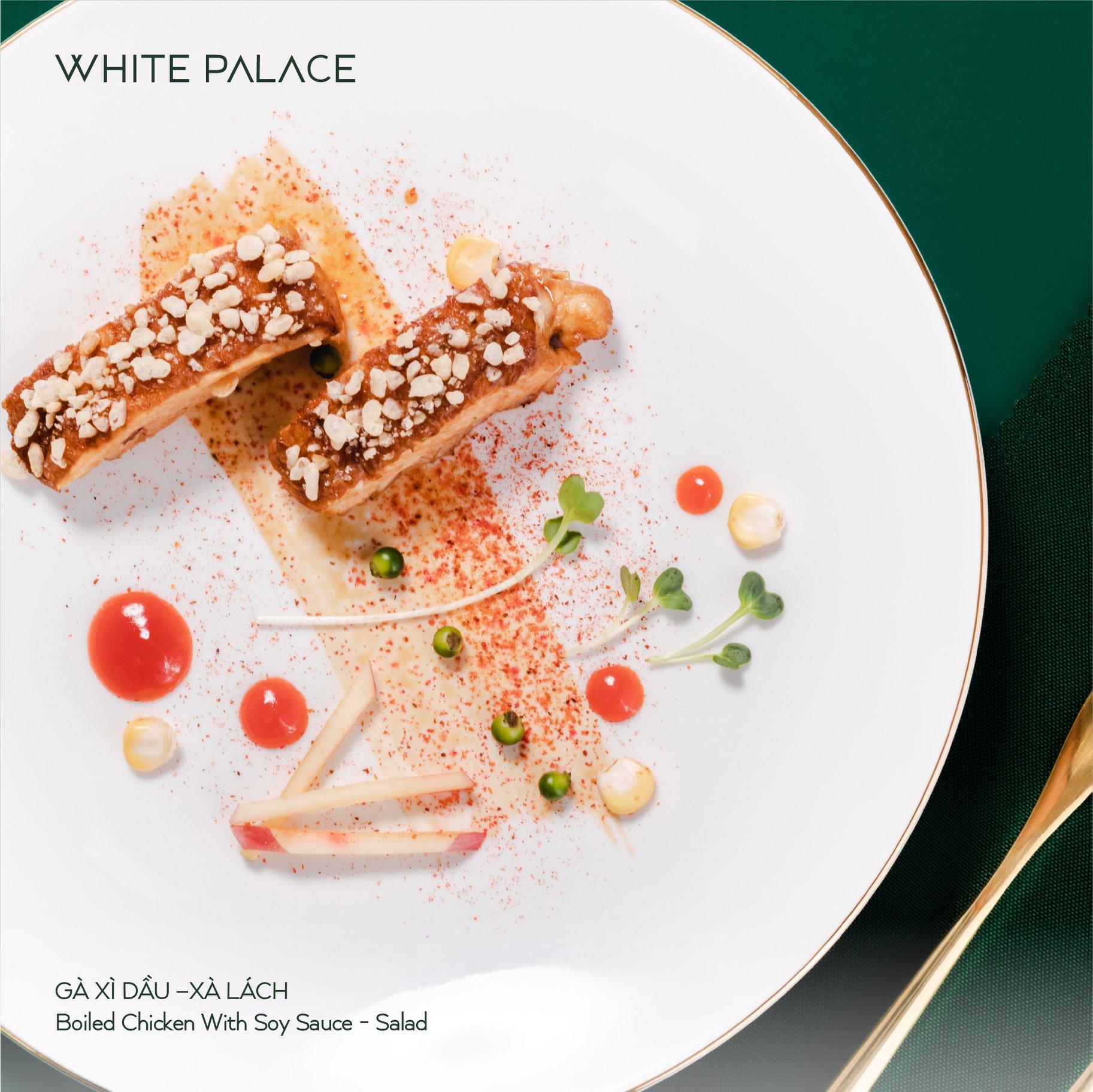 Thực đơn Nhà hàng tiệc cưới White Palace 2