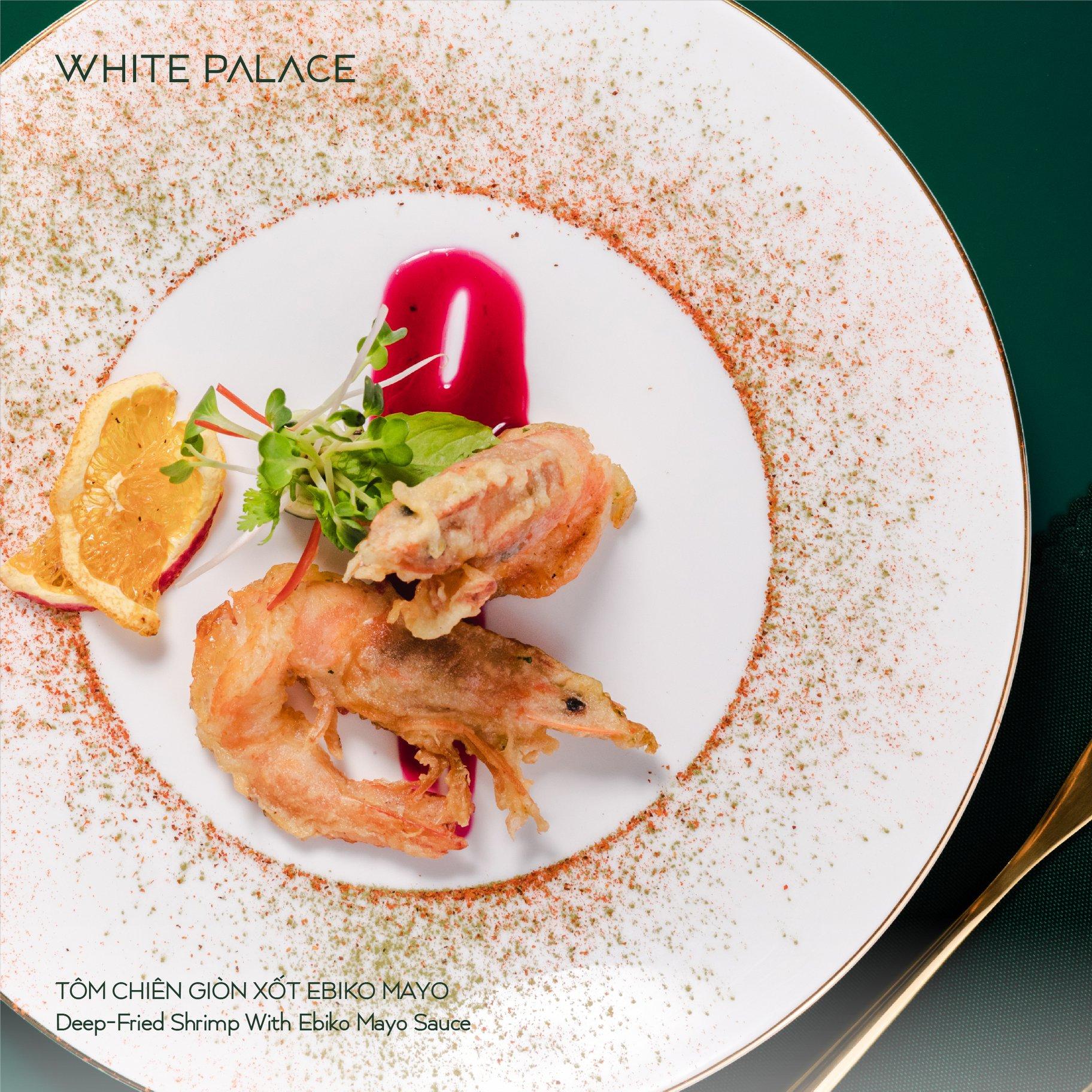 Thực đơn Nhà hàng tiệc cưới White Palace 4