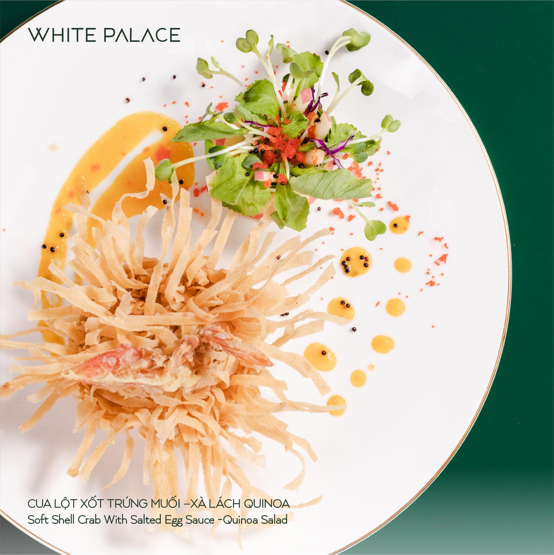 Thực đơn Nhà hàng tiệc cưới White Palace 8