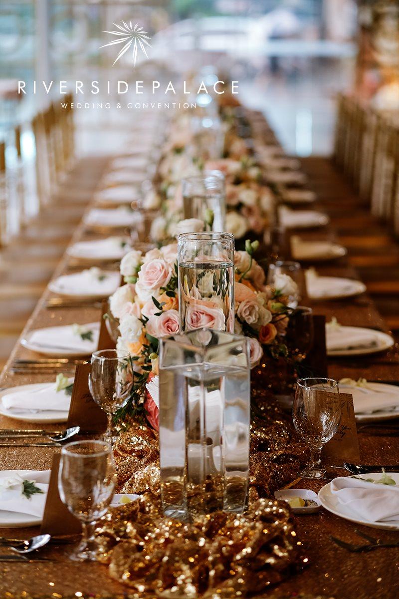 trang trí tiệc cưới tại nhà hàng Riverside quận 4