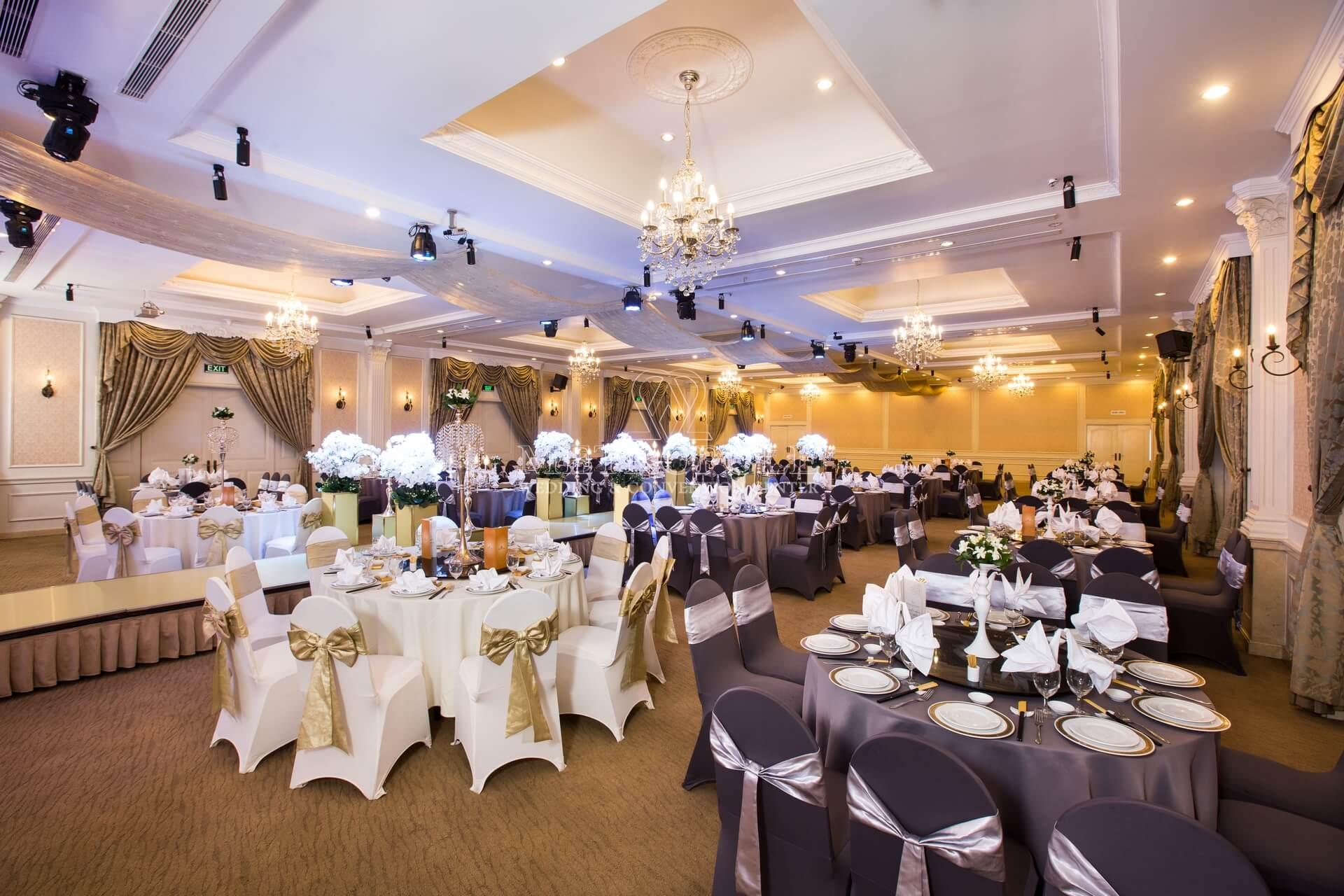 tổ chức tiệc cưới nhà hàng Metropole Lý Chính Thắng