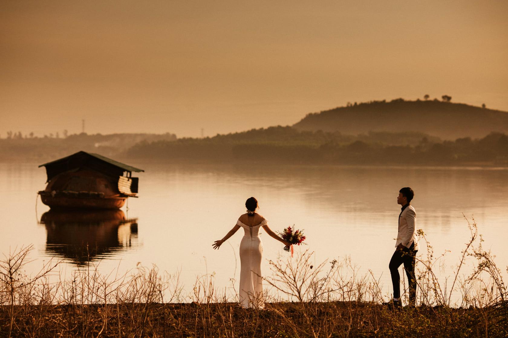 Chụp Ảnh Cưới Đẹp Ở Hồ Cốc - Kim Ơi Wedding 5