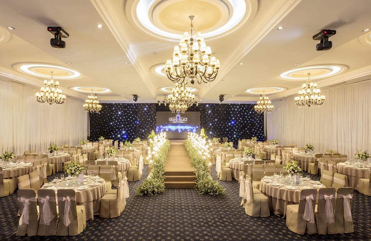 tổ chức tiệc cưới tại nhà hàng grand palace