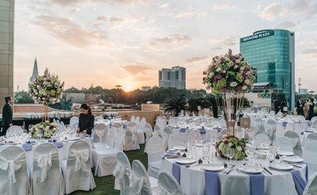Tiệc Cưới Trọn Gói Tại Khách Sạn InterContinental Sài Gòn
