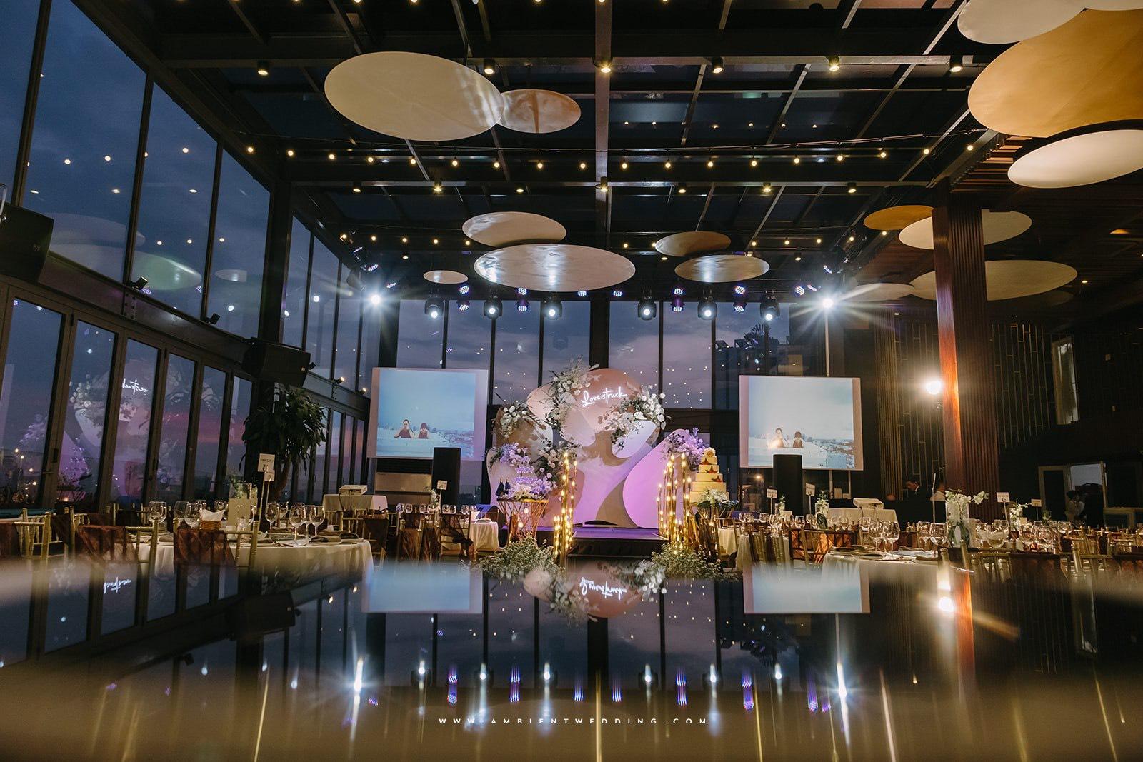 sảnh tiệc nhà hàng tiệc cưới Capella Gallery Hall