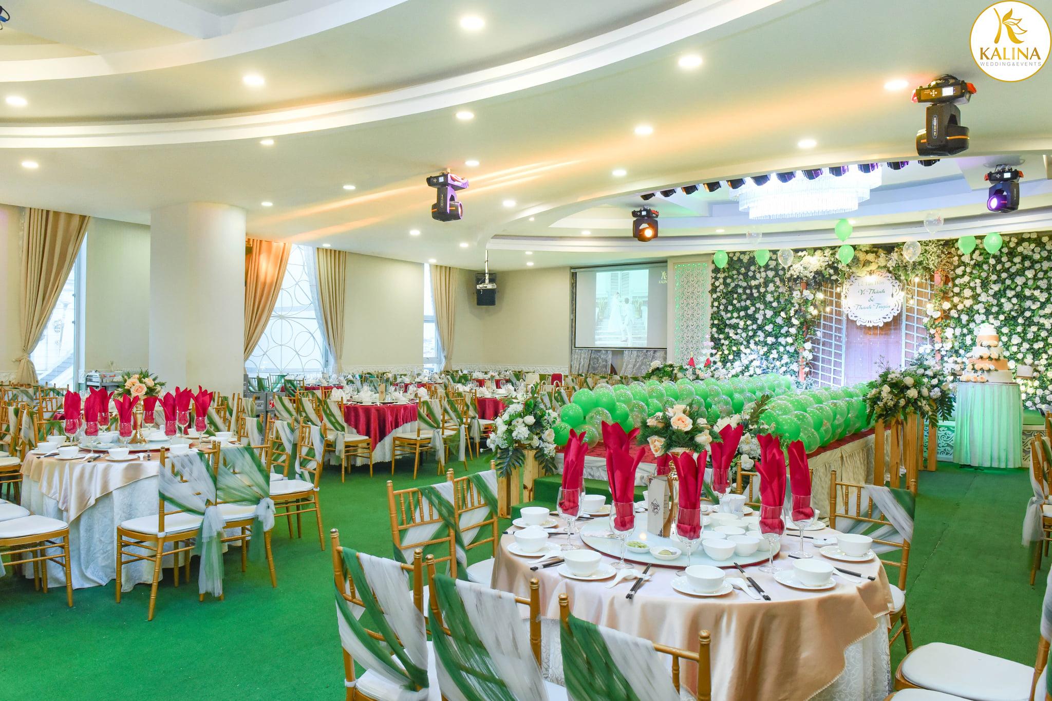 Nhà hàng tiệc cưới Kalina quận Tân Phú