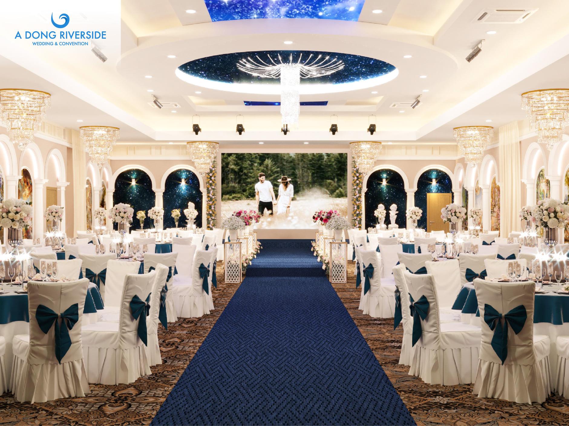 Tổ chức tiệc cưới nhà hàng Á Đông