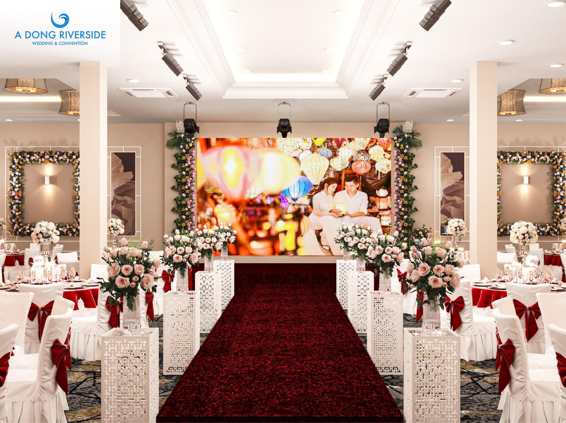 Đặt tiệc cưới nhà hàng Á Đông