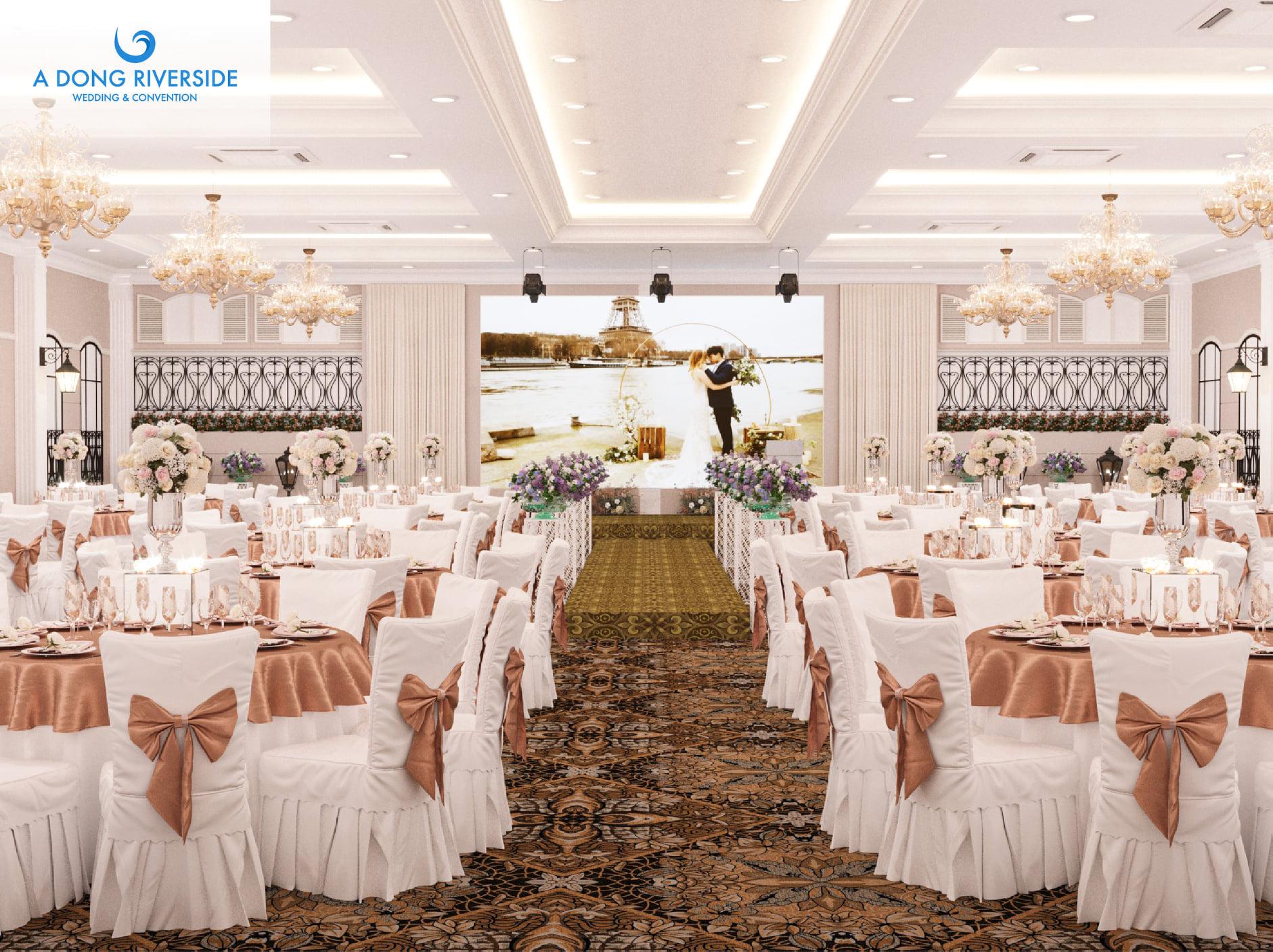 Tổ chức tiệc cưới nhà hàng Á Đông bao nhiêu