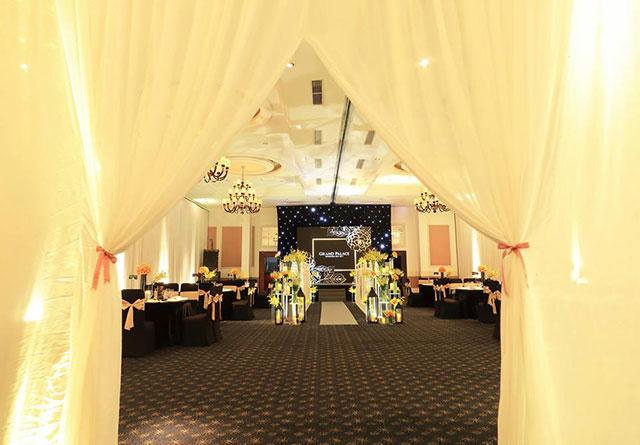Sparkling Golden gói trang trí tiệc cưới đẹp