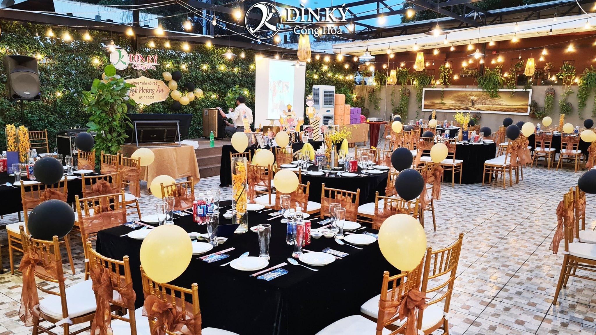 Nhà hàng tiệc cưới hội nghị Dìn Ký Center