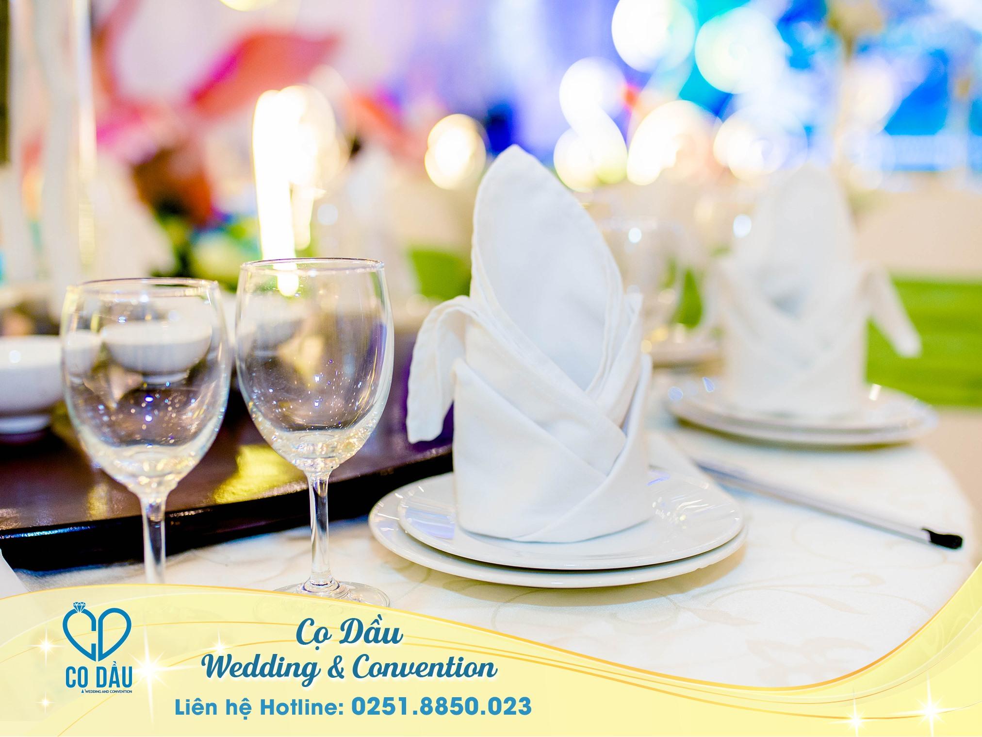 sảnh cưới nhà hàng cọ dầu Biên Hòa