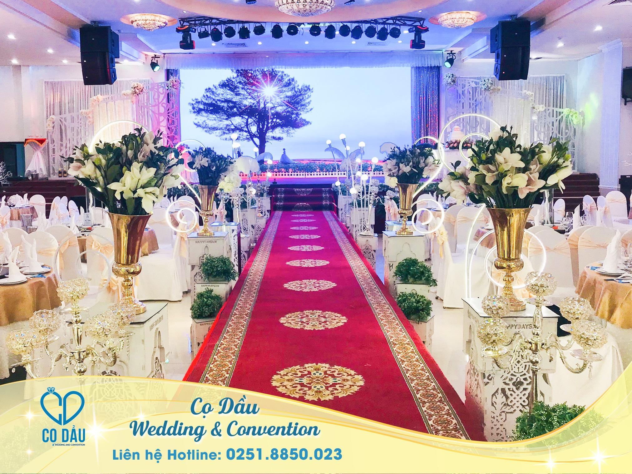 Sảnh Cưới Nhà hàng Cọ Dầu Wedding & Convention
