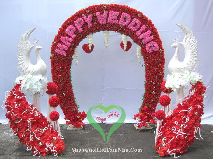 Dịch vụ cưới hỏi Tâm Như chuyên trang trí nhà ngày đám cưới