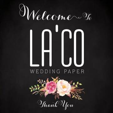 Thiệp cưới La'co